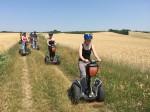 Durch die Getreidefelder an der tschechischen Grenze