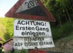 Warnung!! Rauf auf Aggstein!